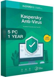 Kaspersky Antivirus 2020 - 5 PCs -  1 Year [EU]