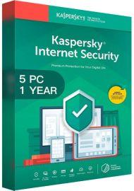 Kaspersky Internet Security Multi Device 2020 - 5 Devices - 1 Year [EU]
