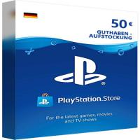 Playstation PSN Gift Cards - 50 Euro DE